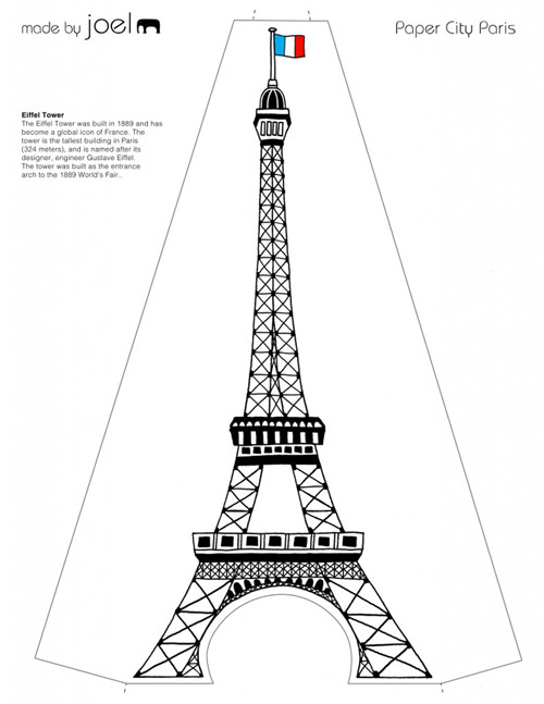 Paper-City-Paris-Eiffel-Tower-Template-791x1024