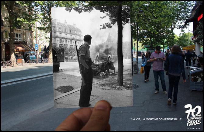01-Paris-Liberation-1944-StMichel-Doisneau