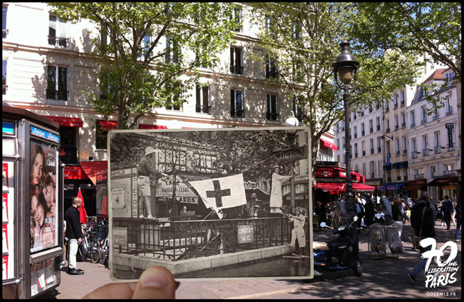 10-Paris-Liberation-1944-Bastille-Metro