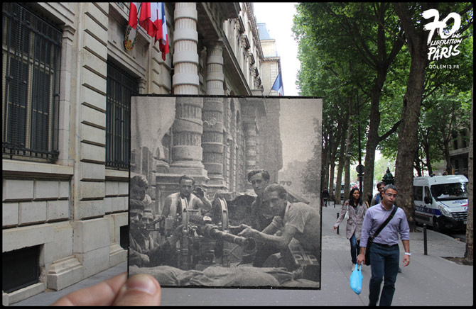 14-Paris-Liberation-1944-PrefectureCanon