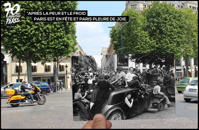 43-Paris-Liberation-1944-Traction-champs