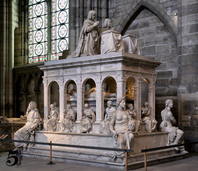 Basilique_Saint-Denis_Louis_XII_Anne_de_Bretagne_tombeau