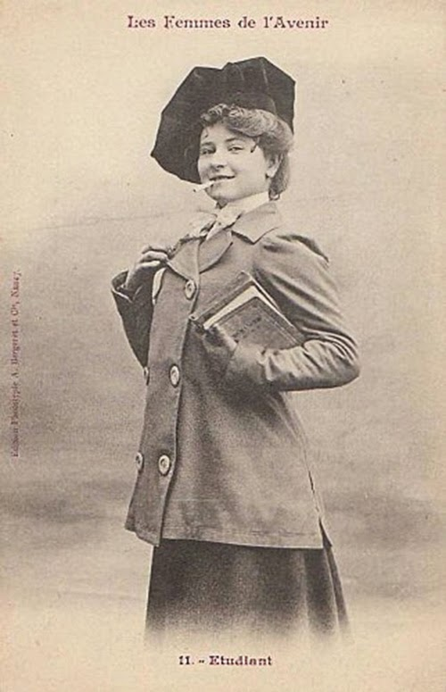 Women of the Future Trading Cards, 1902 (4)
