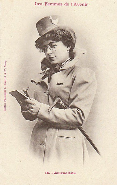 Women of the Future Trading Cards, 1902 (9)
