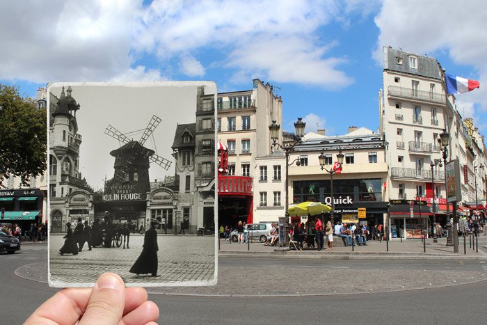 paris-Boulevard-de-Clichy.-1900-Moulin-Rouge