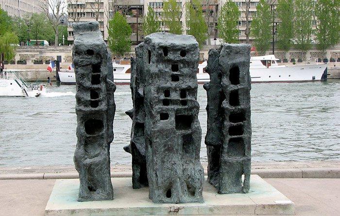 Sculpture-quai