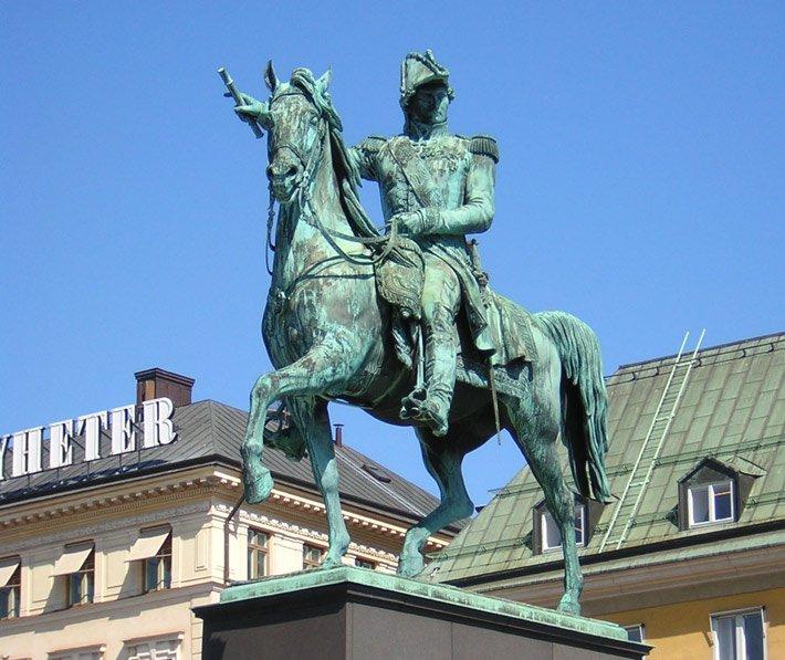 bernadotte-statue_of_charles_xiv_john_at_slussplan_stockholm
