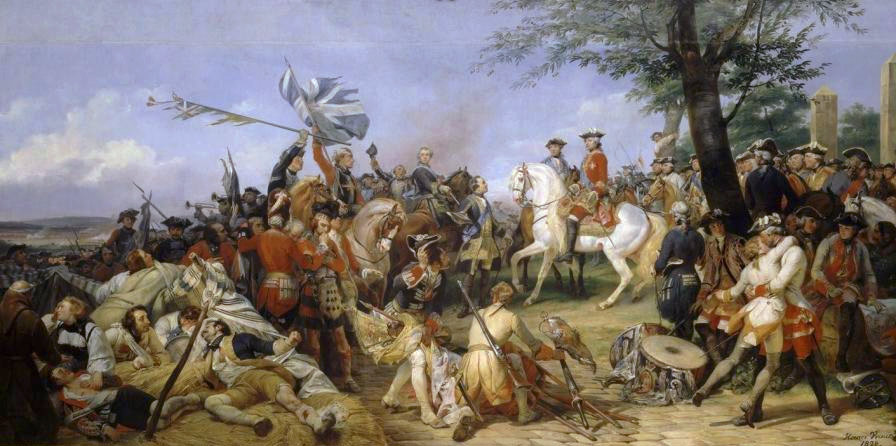 The_Battle_of_Fontenoy,_11th_May_1745